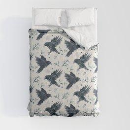 Odin's Ravens Pattern Print Comforters