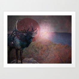 Trophy View Art Print