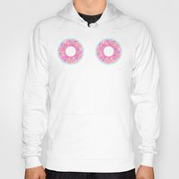 donuts Hoodies featuring DONUTS by BIGEHIBI