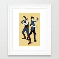 bioshock Framed Art Prints featuring Bioshock Infinite by Slythermint