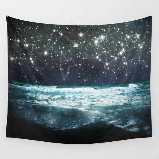 The Greek Upon the Stars Wall Tapestry