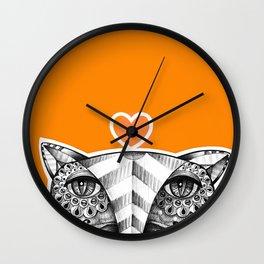 Fox O Wall Clock