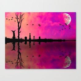 Peace on the Bayou Canvas Print