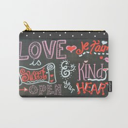 Valentine Chalk Carry-All Pouch