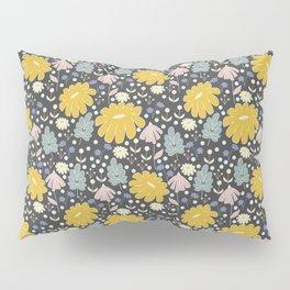 Ramona: a Modern Floral Pattern Pillow Sham