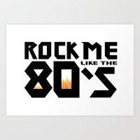 RockMe Art Print