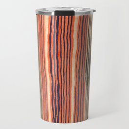 Vintage Southwest Stripe Pattern Travel Mug