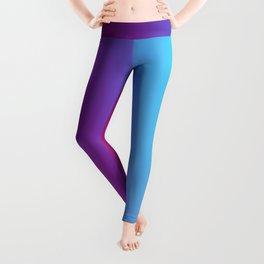 Multicolor Abstract Leggings