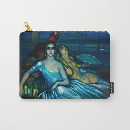 Muses of the Guadalquivir, Venice by Federico Beltran Masses Carry-All Pouch