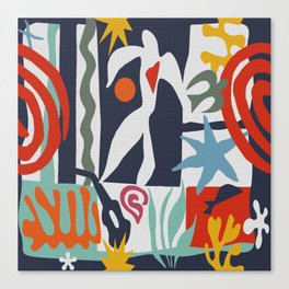 Inspired to Matisse Canvas Print
