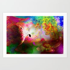 Abstract Art 2014-12-09 Art Print