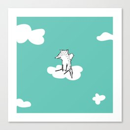 Flying Fox by Amanda Jones Canvas Print