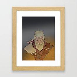 Embers of War Framed Art Print