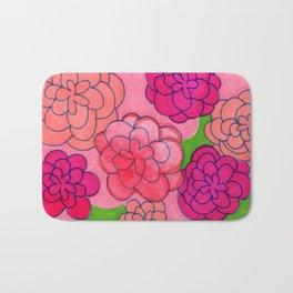 Flower Push 2 Bath Mat