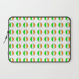 flag of ireland 12 -ireland,eire,airlann,irish,gaelic,eriu,celtic,dublin,belfast,joyce,beckett Laptop Sleeve