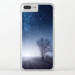 Vanishing Point Finland Clear iPhone Case