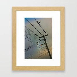 Poste_02 Framed Art Print
