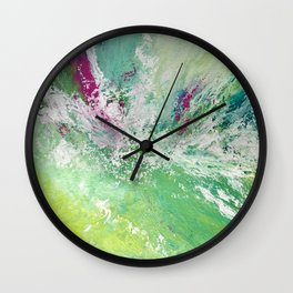 100 Days of Color: Day 4 Wall Clock