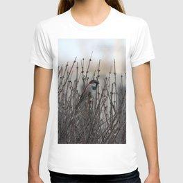 Chickadee in a Bush T-shirt