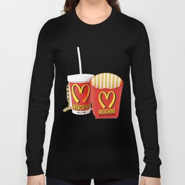 HAPPY MEAL :) Long Sleeve T-shirt