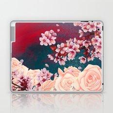 Full Bloom | Cherry pink Warhol Laptop & iPad Skin