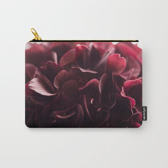 burgundy florals Carry-All Pouch
