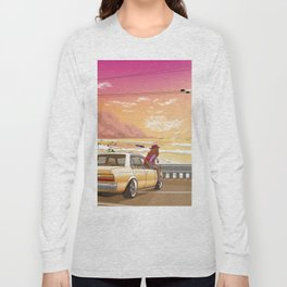 A time to reflect. Long Sleeve T-shirt