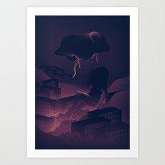 See Rainbow In The Dark Art Print