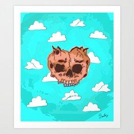 Caffine Art Print