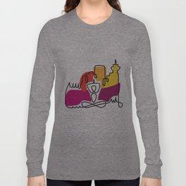 Urban Yoga Graphic Long Sleeve T-shirt