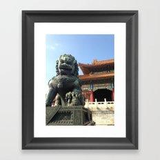 Forbidden City Framed Art Print