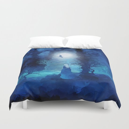 The Magician by Viviana Gonzales and Paul Kimble Duvet Cover