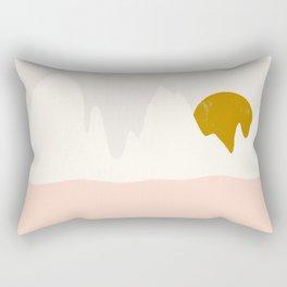 desert shades Rectangular Pillow