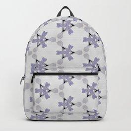 Multi Purple Pattern Design Backpack