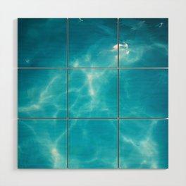 Swimming pool Wood Wall Art