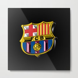 Barca Logo Great Metal Print