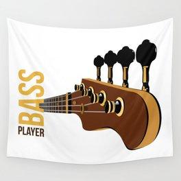 Bassguitar Wall Tapestry