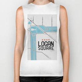 Chicago's Logan Square Biker Tank