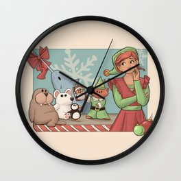 I Know Him Wall Clock
