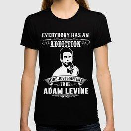 Adam levine Addiction T-shirt