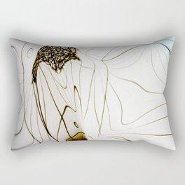 Glacial Foliation Rectangular Pillow