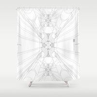 vertigo Shower Curtains featuring {Vertigo} by Kairosa