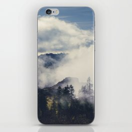 Mountain Clouds iPhone Skin