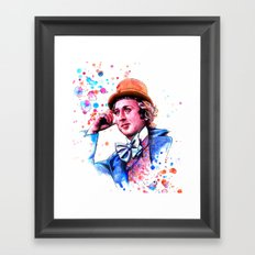 We are the Dreamers of Dreams Framed Art Print