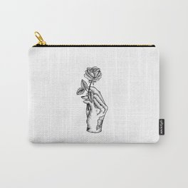 Rose Hand Carry-All Pouch