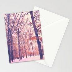 Winter Trees Stationery Cards