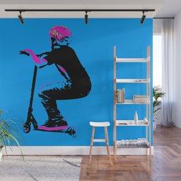 Scooter Cruiser - Scooter Boy Wall Mural