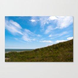 Brittas Bay. Wicklow Ireland. Canvas Print