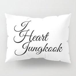 I Heart Jungkook JK Kooky - BTS Army Pillow Sham