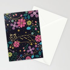 Forest Cat Stationery Cards